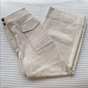 Topshop Wide Leg Pocket Pants